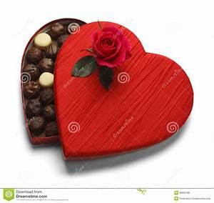 Valentine's Chocolate stock photo. Image of isolated ...