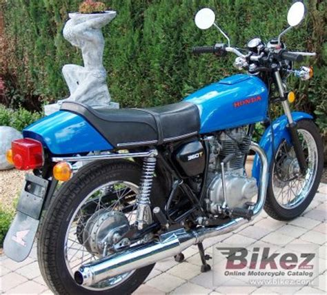 1978 Honda Cj 360 T Specifications And Pictures