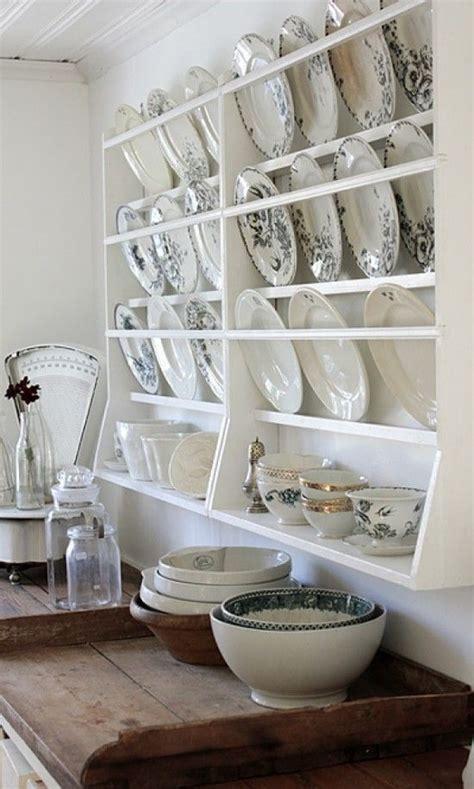 ivy house somewhatvintage  pinterest plate shelves vintage kitchen plate racks