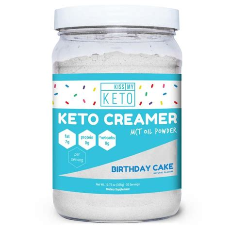 Not all coffee creamers are created equal, especially when it comes to keto, says karissa long, chc, keto expert and global integrative nutrition coach. Cake-Flavored Keto Creamers : keto coffee creamer