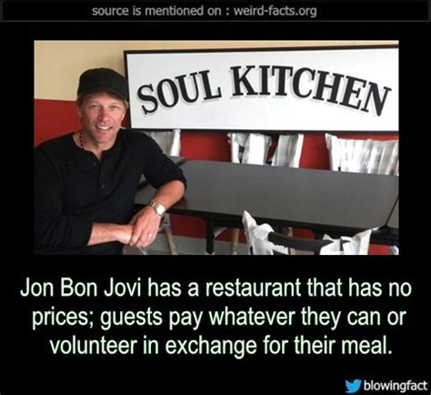 Jon Bon Jovi Has Restaurant That Prices