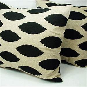 best black and cream throw pillow products on wanelo With black and cream decorative pillows