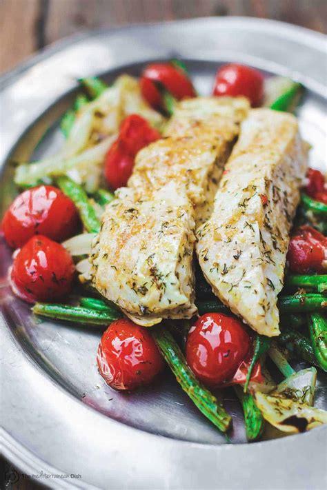 baked halibut recipe mediterranean style