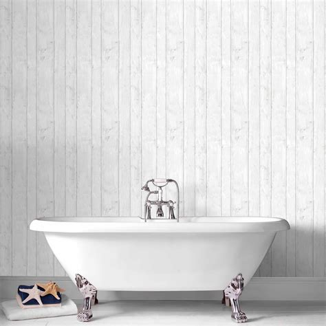 How To Get Bathroom Wallpaper by Bathroom Wallpaper Tile Effect Gallery