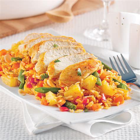 casserole et cuisine casserole de poulet et riz à la noix de coco recettes