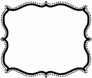 Free Fancy Frame   bordes   Pinterest   Doodle borders ...