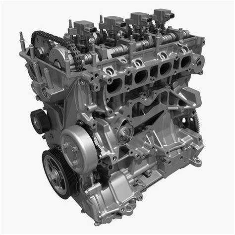 cylinder engine block   cgtrader