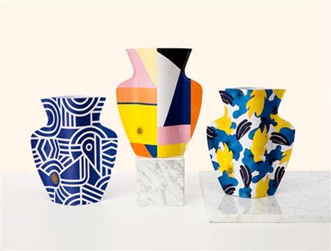 vasi ceramica design vasi da fiori di carta design lover
