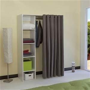 Dressing Pas Cher Conforama : dressing avec rideau comparer 89 offres ~ Dailycaller-alerts.com Idées de Décoration