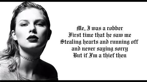 Taylor Swift - Ready For It Lyrics - YouTube
