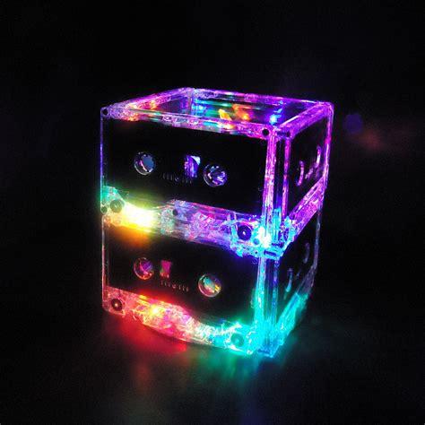 multi color led lights unique lighting multi color led cassette mixtape night light