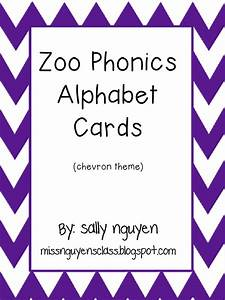 miss nguyen39s class june 2013 With zoo phonics letter cards