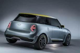 Mini Concept Cars by Mini Unveils Concept Of Production Electric Car