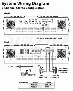 4 Channel Car Amp Wiring Diagram