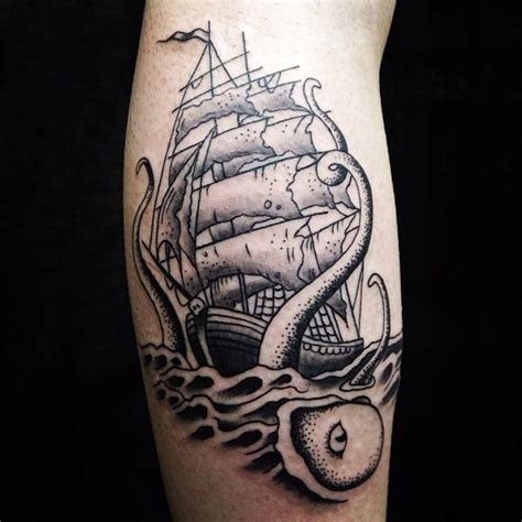 60+ Best Kraken Tattoo Meaning And Designs  Legend Of The
