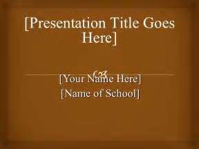 APA Format PowerPoint Presentation Examples