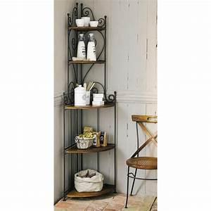 Meuble En Fer : meuble d 39 angle en fer forg luberon ~ Melissatoandfro.com Idées de Décoration