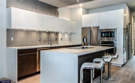 red granite countertops kitchen contemporary  black