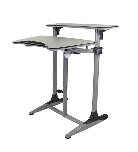 Taskmaster Sit Stand Desk Tilt Adjustable  Officeway. Industrial Work Desk. Contact Cnn News Desk. Glass Reception Desk. Rubbermaid Tables. Unique End Table. 8 Table. Paula Deen Table. Industrial Wood Table