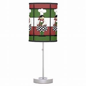 italian chef kitchen table lamp With table lamp in kitchen