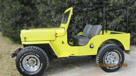 cj jeep yellow seller of classic cars 1964 jeep cj yellow burgundy