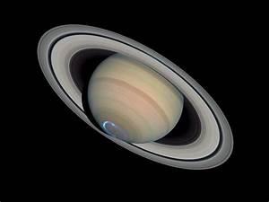 Saturn's dynamic aurorae 1 (Jan 24, 2004) | ESA/Hubble
