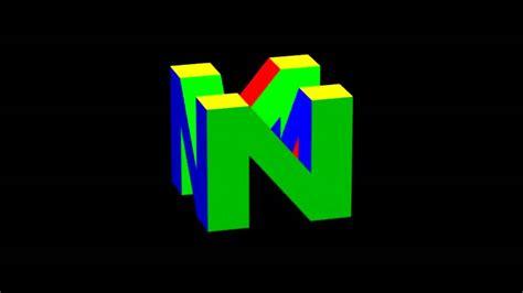 Nintendo 64 Logo Cube Youtube