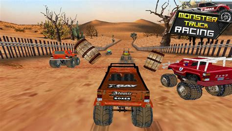 monster truck race game app shopper monster truck racing 3d games games