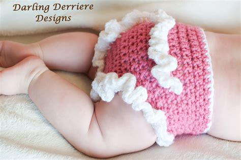 Free Crochet Diaper Cover Pattern 0 3 Months by Ruffle Diaper Cover Crochet Pattern On Luulla