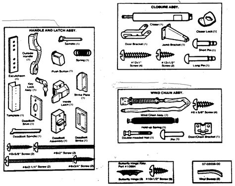 door knob diagram larson door parts diagram 25 wiring diagram images