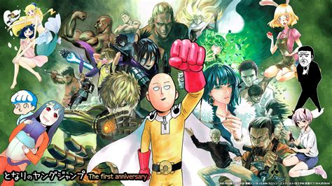 punch man hd wallpaper  wallpapersafari
