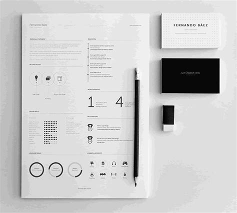 Designed Resume Template Free by 20 Beautiful Free Resume Templates For Designers