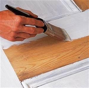 peinture bois comment faire eco peinture With peinture pour porte en bois