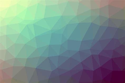 polygon backgrounds cold colors   web design