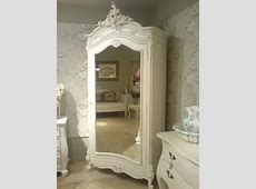 French Armoire in White