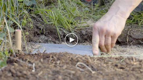 Rasenkante Selber Bauen by Bauanleitung Rasenkante Aus Betonplatten Richtig Verlegen
