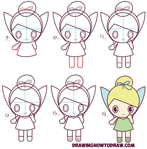 How To Draw Chibi People 7 How To Draw Chibis Drawings