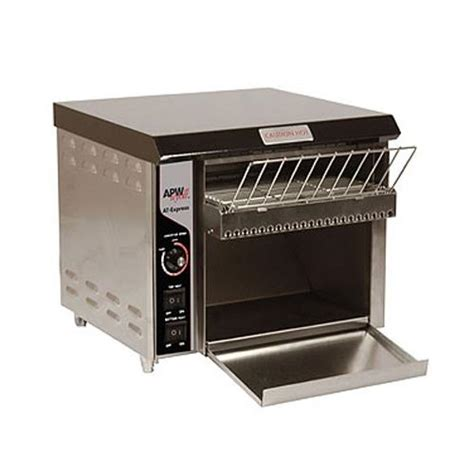 used commercial toaster apw wyott at express at express countertop conveyor