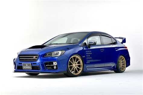 Subaru Car : Rowen Turns Subaru Wrx Sti Into A Road-going Rally Car