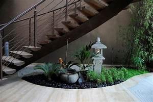 Jardin D Interieur : decoration jardin sous escalier ~ Dode.kayakingforconservation.com Idées de Décoration