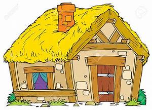 Hut clipart animated - Pencil and in color hut clipart