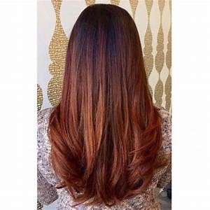 Ombré Hair Auburn : image result for auburn and brown hairstyles hairstyles colours pinterest balayage hair ~ Dode.kayakingforconservation.com Idées de Décoration