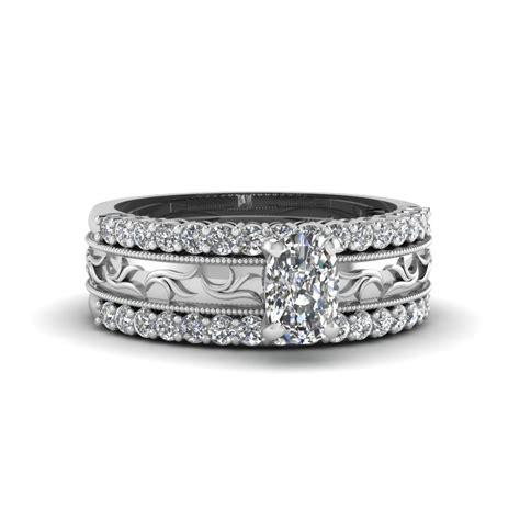 discover our platinum trio wedding ring sets fascinating diamonds