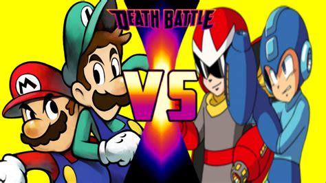 Mario And Luigi Vs Mega Man And Proto Man Death Battle Fanon