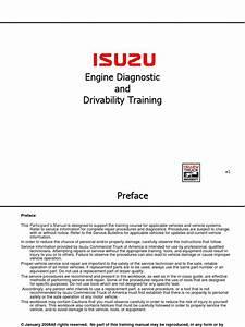 1996 Isuzu Engine Diagram