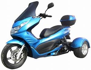 Ice Bear  U0026quot Q6 U0026quot  150cc Full Size Motor Trike Scooter Pst150
