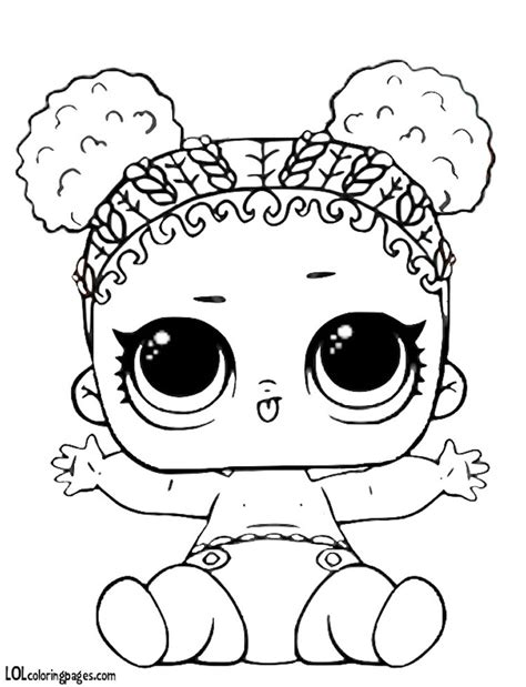 disegni da colorare delle lol e lil lol doll coloring pages master coloring pages