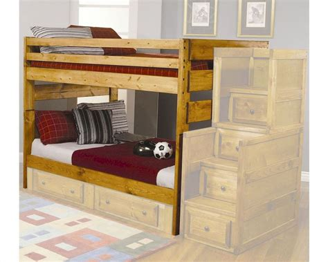 coaster furniture bunk bed wrangle hill