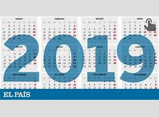 El calendario laboral de 2019 ya es oficial solo permite