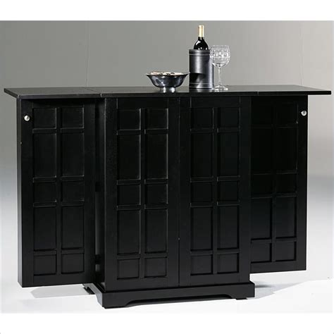 Folding Home Bar by Styles Furniture Steamer Trunk Folding Home Bar Ebay